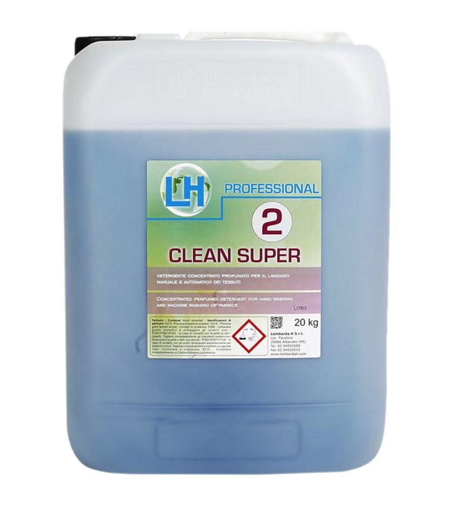 Clean Super - Koncentrovani parfimisani tečni deterdžent za ručno i mašinsko pranje veša