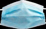 Zaštitna maska za lice sa troslojnim filterom - Slika